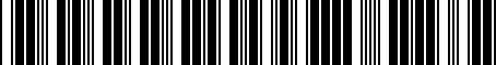 Barcode for 4G0051730C