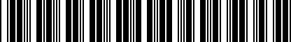 Barcode for 4G0063511