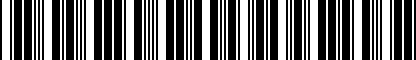 Barcode for 4G5061205