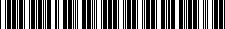 Barcode for 8R0071156C