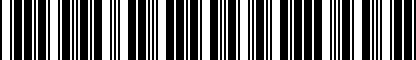 Barcode for 8S0051435