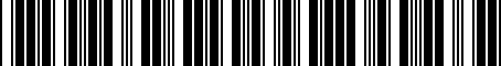 Barcode for 8S0051435F