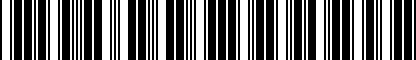 Barcode for 8T0071128