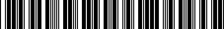 Barcode for 8W0051435A