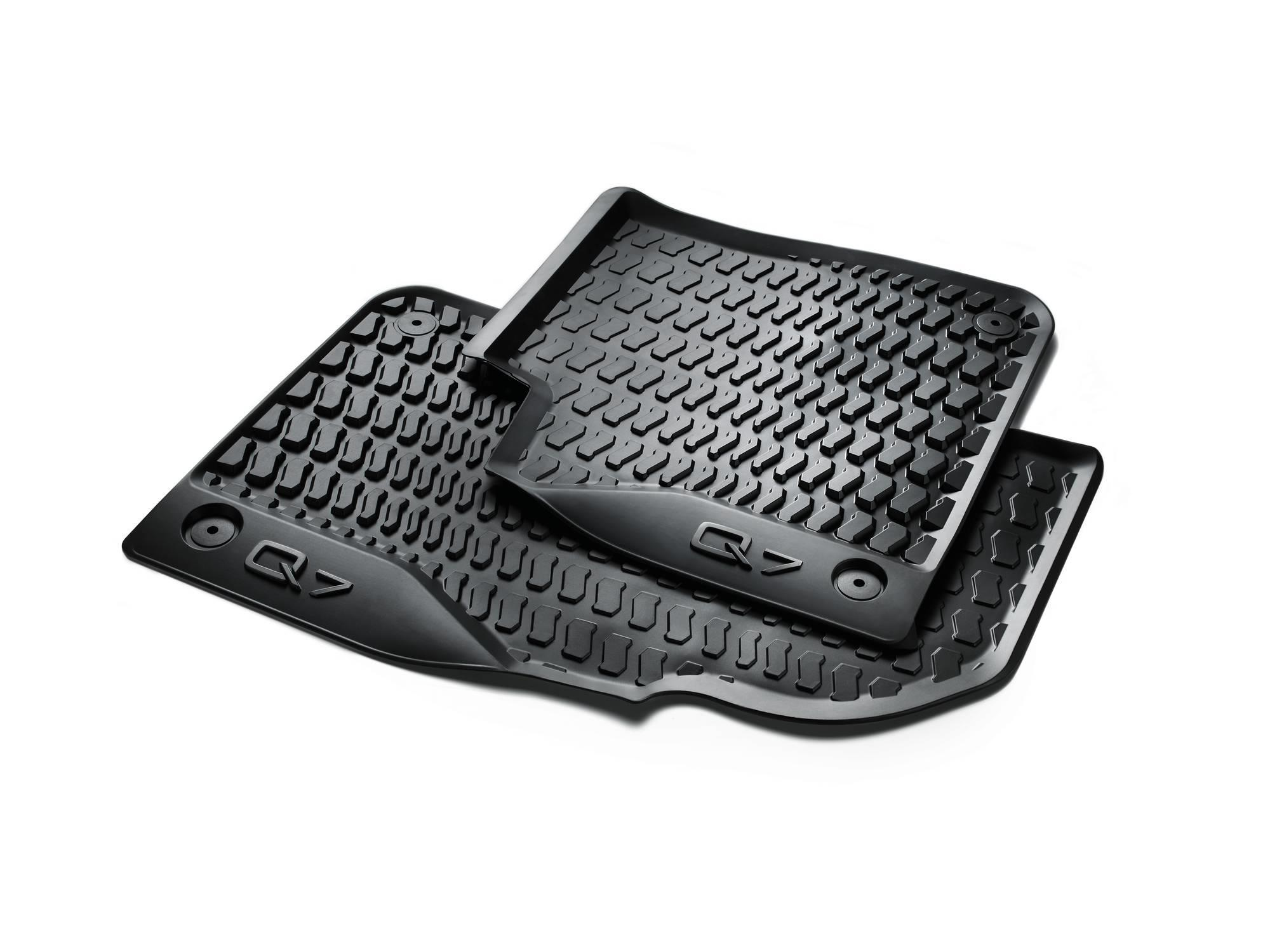 set dual clip thermoplastic black all rubber mats mat weather pc floor ab