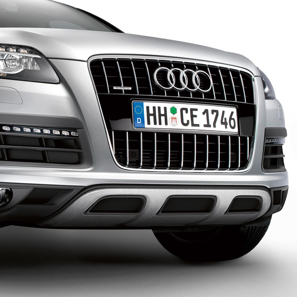2013 Audi Q7 Offroad Style Package, Front Apron