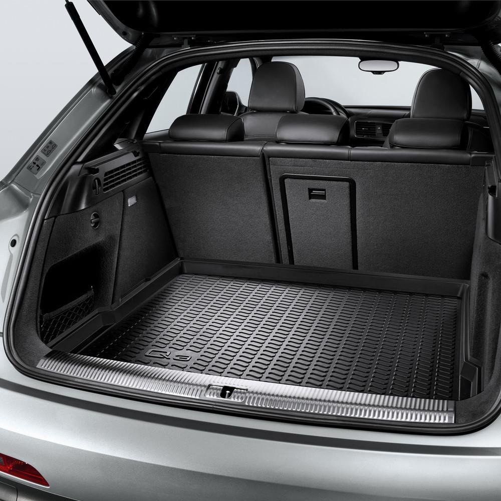 2018 Audi Q3 Luggage Compartment Shell Protects Dirt